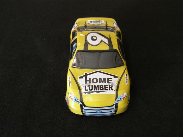 Micro-Reality Motorsports Custom Stock Car Home Lumber